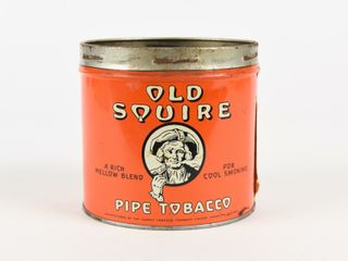 OlD SQUIRE PIPE TOBACCO 1 2 POUND CAN   NO lID