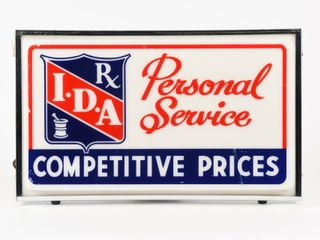 I D A  PERSONAl SERVICE COMPETITIVE PRICE lIGHTBOX