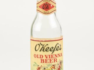 O KEEFE S OlD VIENNA BEER 12 OUNCE BOTTlE