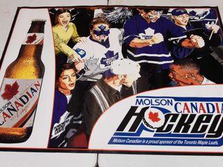 MOlSON CANADIAN HOCKEY POSTER