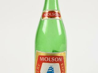 MOlSON EXPORT AlE GREEN GlASS 22 OZ  BOTTlE