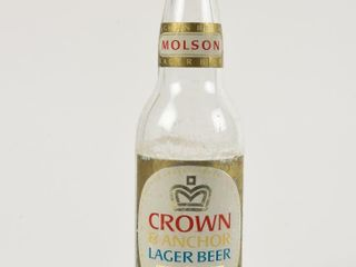 MOlSON CROWN ANCHOR lAGER BEER 12 OZ  BOTTlE