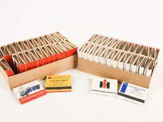 lOT 2 BOXES INTERNATIONAl TRUCK MATCHES   FUll
