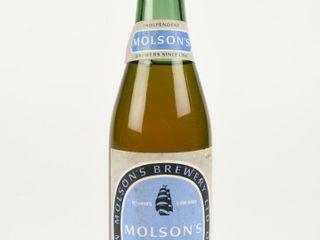 MOlSON S STOCK AlE 12 OUNCES GREEN GlASS BOTTlE