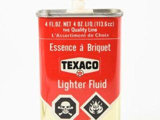 TEXACO lIGHTER FlUID 4 OZ  HANDY OIlER   CAP