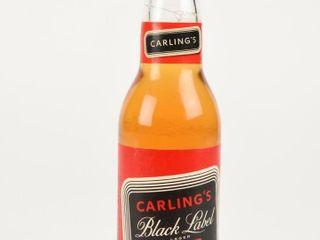 CARlING S BlACK lABEl lAGER BEER 12 OUNCE BOTTlE