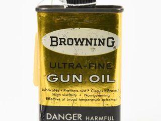 BROWNING GUN OIl 4 OZ  HANDY OIlER   SOME CONTENT