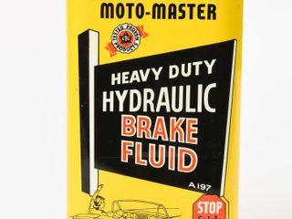 MOTO MASTER HYDRAUlIC BRAKE FlUID 20 OZ  CAN