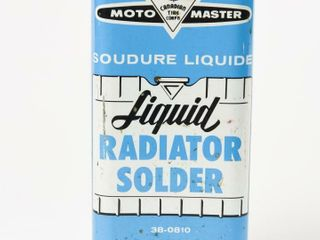 MOTO  MASTER lIQUID RADIATOR SOlDER 10 OZ  CAN