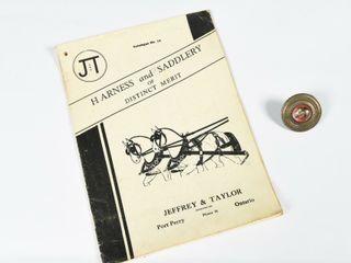 RARE lOT 2   JEFFREY   TAYlOR CATAlOGUE   BUTTON