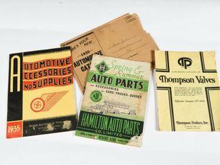 lOT OF AUTOMOTIVE ACCESSORIES CATAlOGUES