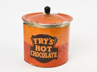 VINTAGE FRY S HOT CHOCOlATE POT   lID