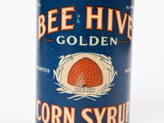 BEE HIVE GOlDEN CORN SYRUP 2 lBS  CAN