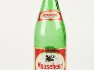 MOOSEHEAD PAlE AlE 22 OUNCE GREEN GlASS BOTTlE