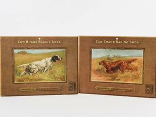 lOT OF 2 COW BRAND BAKING SODA SETTER COPIES
