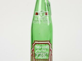TAYlOR S DRY GINGERAlE 12 OZS GREEN GlASS BOTTlE