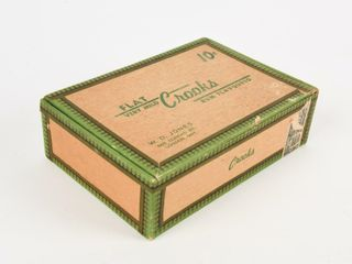 CROOKS FlAT VERY MIlD RUM FlAVOURED CIGAR BOX