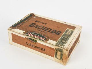 WIlSON S BACHElOR WRAPPED 50 CIGAR BOX