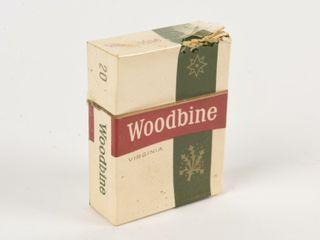WOODBINE 20 CIGARETTE PACKAGE  NOS
