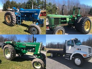 Online Only Farm & Collector Tractors � Truck � Auto � Grain Drill � Tillage Equipment � Brush Hog � Weights � Farm Related Items