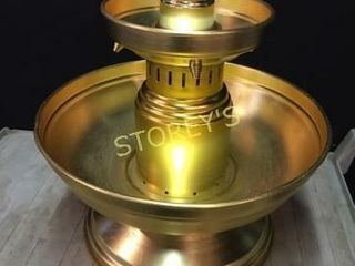 Gold Beverage Fountain   20 x 22