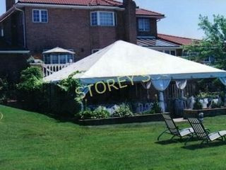 30  x 30  White Anchor Tent Top  2pc