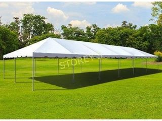 20 w x 10  Mid Sopers White Tent Top