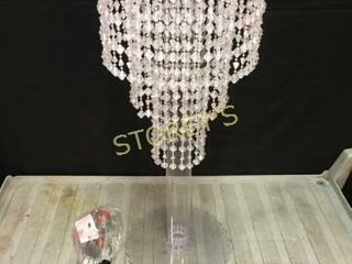 Crystal  Brittany  Centerpiece  Hanging Chandelier