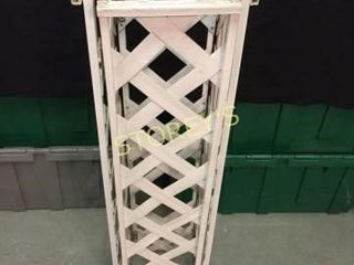 lattice Flower Stand   9 x 9 x 36