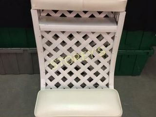 lattice Kneeling Bench   20 x 18 x 31