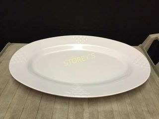 4 Melamine 30  Oval Trays