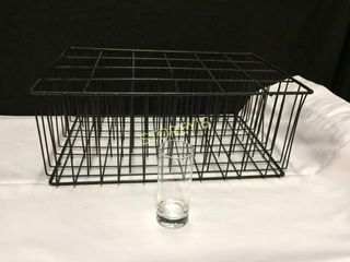 23 Crystal Plain 10oz Glass w  Rack