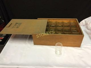 24 High Ball Glasses w  Box