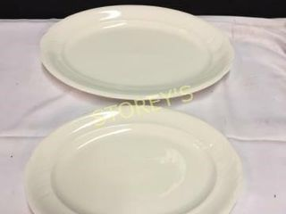 4 Royal Albert Oval Platters   13    16