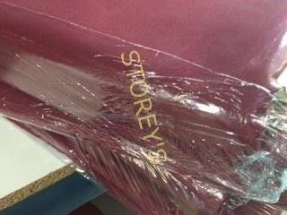 10 Burgundy 90 x 90 Tablecloths