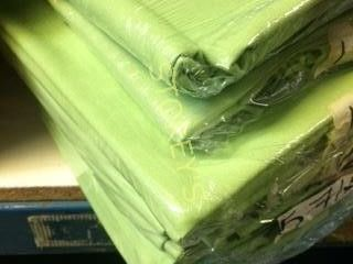 6 lime Green 90 x 90 Tablecloths