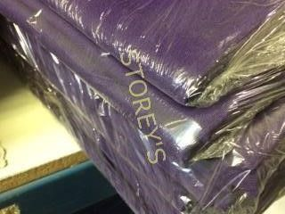 12 Purple 71 x 71 Tablecloths