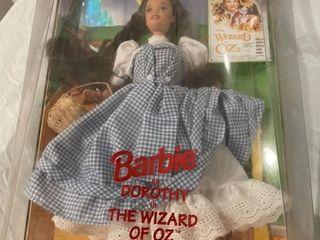 Dorthy wizard of Oz Tin Man Barbie