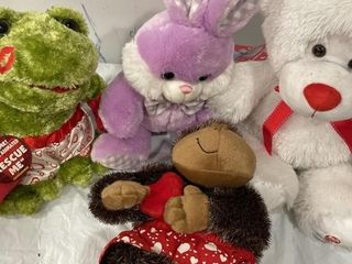Stuffed Animals New bunny monkey bear and