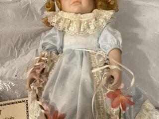 Porcelain  Doll Mann authenticity