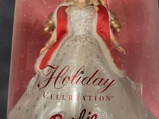 Barbie  Collection 2001 holiday celebration