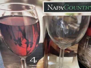 Napa  Wine Glasses Set of 8