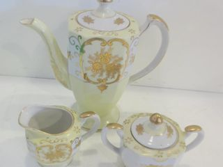 THE KINODE TEAPOT  CREAM AND SUGAR SET