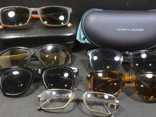 TOMMY HIlFIGER SUNGlASSES W CASE AND ASSORTED