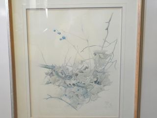 GlEN lOATES SIGNED  NUMBERED PRINT 286 500