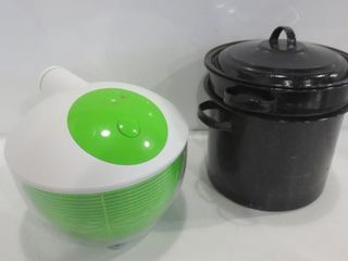 SPAGHETTI COOK POT  SAlAD SPINNER