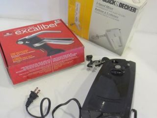 BlACK   DECKER 3 SPEED MIXER  EXCAlIBUR 3 PIECE
