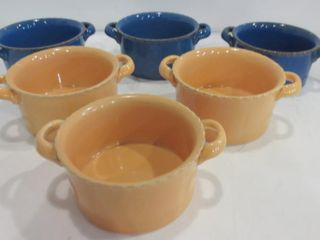 SET OF 6 STONEWARE SOUP BOWlS