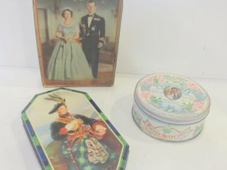 VINTAGE COllECTOR TINS