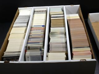 SPORTS CARDS IN BOX